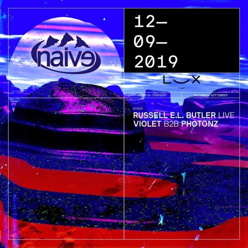 Violet b2b Photonz at naive showcase / Lux Frágil, Lisbon