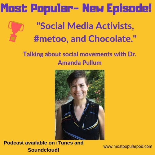 Social Media Activists, #metoo, and Chocolate!