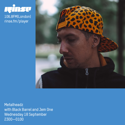 Black Barrel feat. Jem One — Metalheadz Rinse FM (18/09/2019)