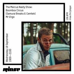 Rinse FM 18/9/19 Marcus Nasty Show