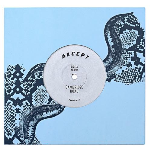 """Akcept """"Cambridge Road"""" b/w """"Over & Out"""" ZamZam 75 7"""" vinyl rip blend"""