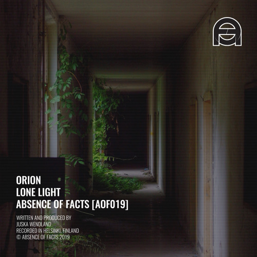 Orion - Lone Light (Original mix) [Absence of Facts]