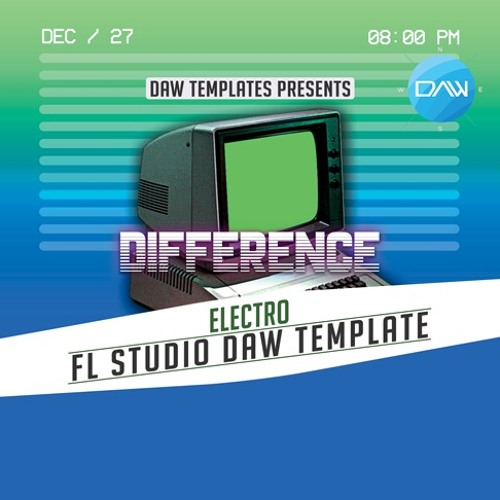 Difference FL Studio DAW Template