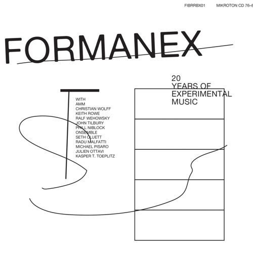 Formanex / ONsemble / Christian Wolff / Keith Rowe / John Tilbury — Trio Rowe / Wolff / Tilbury