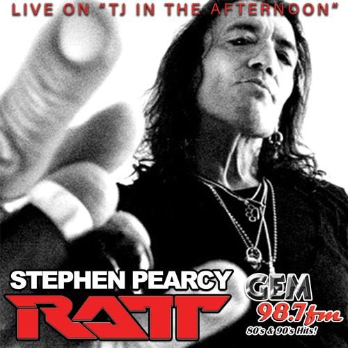 TJ interviews Stephen Pearcy of RATT on 9/20/19