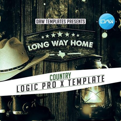 Long Way Home Logic Pro X Template