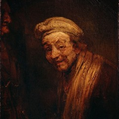 Self-Portrait as Rembrandt Laughing (2019)