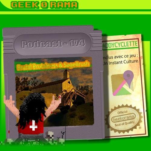 Épisode 174 Geek'O'rama - Brutal Brutalness & Sage Brush | Instant Culture : Geoguessr