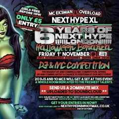 BlckHry - Next Hype 6th Birthday, Halloween special (WINNING ENTRY)