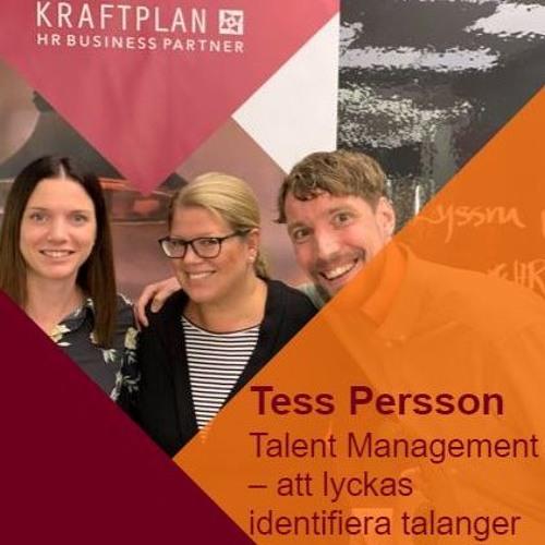 Tess Persson - Att identifiera talanger genom Talent Management