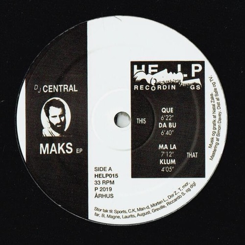 HELP015 · Central · Maks EP (Previews)