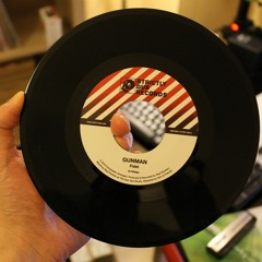 """FIDEL, REAL ROCKERS - GUNMAN / DRUM AND BASS VERSION 7"""" 45 - OUT NOW"""