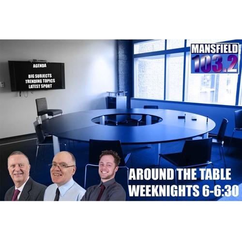 AROUND THE TABLE   ANGELA KEYWORTH & JON BALL   25/09/19