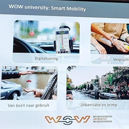 WOW-university over smart mobility door Julie van Heteren en Roel Brandt