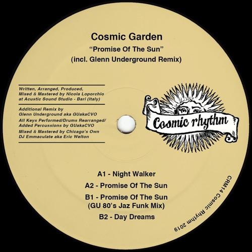 PREMIERE: Cosmic Garden - Night Walker
