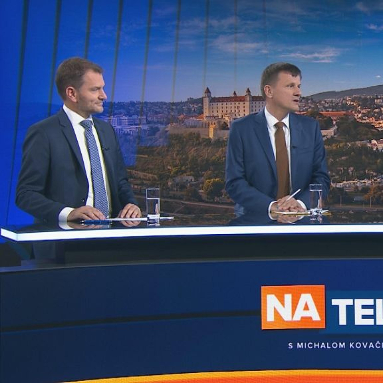 Igor Matovič a Alojz Hlina (29.9.)