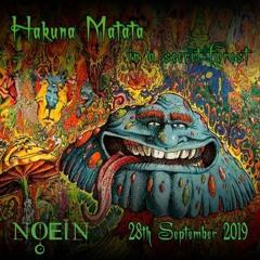Noein Live @ Hakuna Matata 20190929 (152 - 195 Bpm)