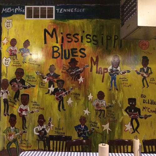 Calling Mississippi:  Walking, Limping & Wheeling Through  Blues Trails
