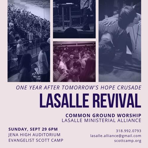Baptized in Power (LaSalle Revival, Dr. Scott Camp)