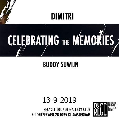 2019 Buddy Suwijn For Celebrating The Memories 13 Sept @  RLGC AMSTERDAM