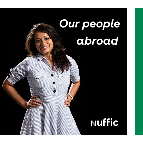 Our people abroad (2) Anwesha Majumder, Chief Representative Officer of Nuffic Neso India