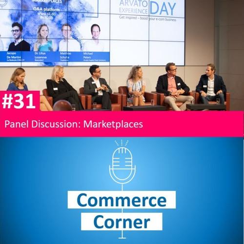 Commerce Corner #31 – Marktplatz-Panel Diskussion
