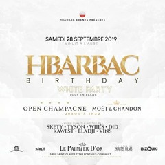 DJ TYSON - HBARBAC BIRTHDAY 2k19 DANCEHALL LIVE SESSION ft. DJ ELADJI