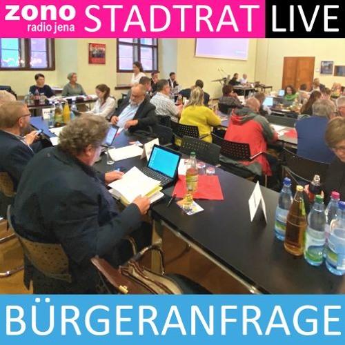 Bürgeranfrage von Herrn Sauer zum Wegfall der Tempo-30-Reduzierung in der Löbstedter Straße