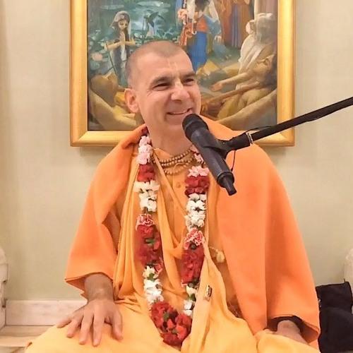 Śrīmad Bhāgavatam class on Mon 30th Sep 2019 by His Holiness Bhakti Rasayana Sagar Swami 4.24.76