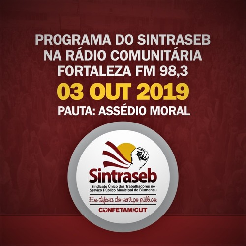 Programa do Sintraseb 03/10/2019