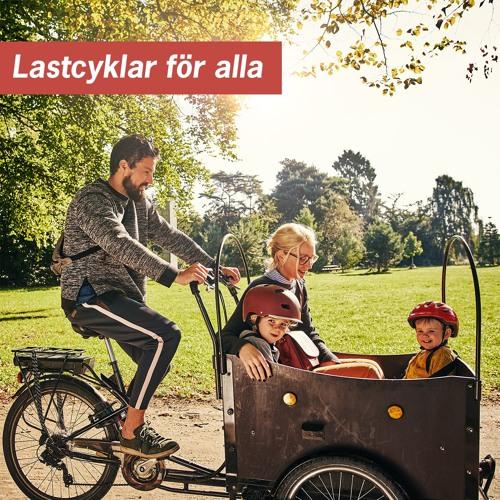 Lastcyklar för alla- Skördedag i Olofström
