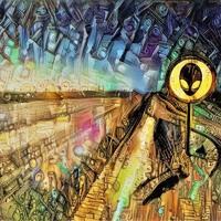 LAEM X ENIMPA - SIGNAL (UFO SIGNAL EP) Artwork