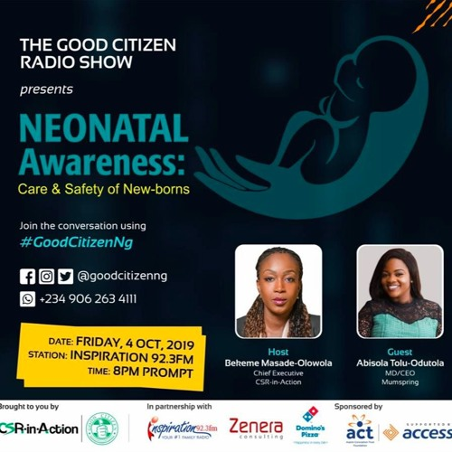 The Good Citizen Show S03E21 - Neonatal Awareness [with Abisola Tolu-Odutola]