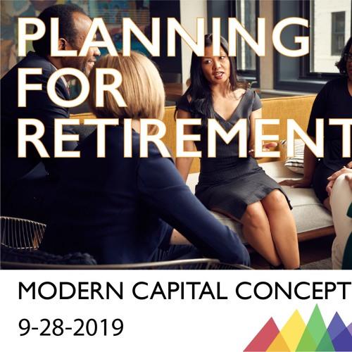 Planning For Retirement 9 -28 -2019