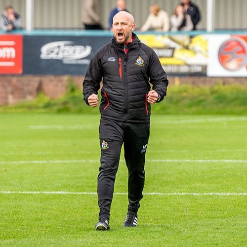 Phil Parkinson after Robins Progress in the FA Cup in the Black Country