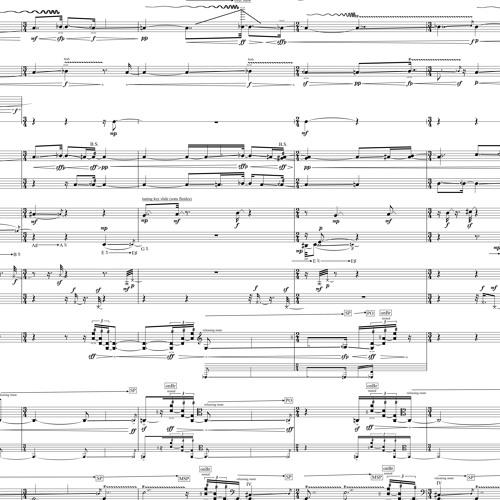 incense, efflorescence (2018) for 9 musicians