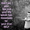 NET SOOS JESUS MOET ONS NIE NET 'N BOODSKAP VERKONDIG NIE MAAR 'N BOODSKAP WEES  2 Korinthiërs 3:2-5