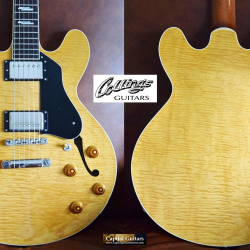 Collings I35LC 16847 Blonde
