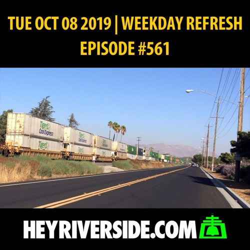 EP0561 TUESDAY OCT 08TH - WEEKDAY REFRESH