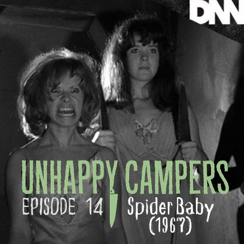 Unhappy Campers 14. Spider Baby (1967)