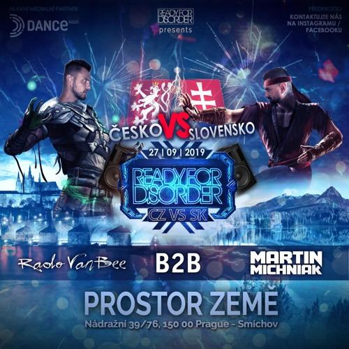 Martin Michniak B2B Rado Van Bee at Ready For Disorder CZ vs SK - 27.09.2019 - Prostor Země, Prague