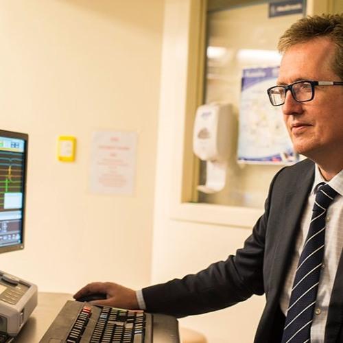 Cardiologist Dr Alistair Begg