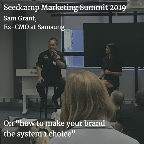 Sam Grant on how to make your brand the system 1 choice