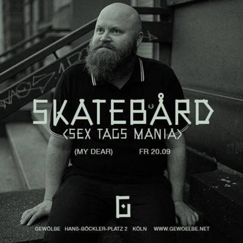 Skatebård at My Dear, Gewölbe, Cologne Germany, September 20th 2019