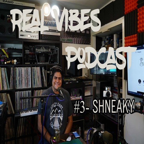 Real Vibes Podcast #3 - Shneaky