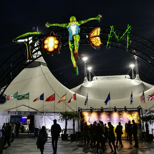 """We are at CIRQUE DU SOLEIL'S """"TOTEM"""" in The Hague and talk to performers and production team"""