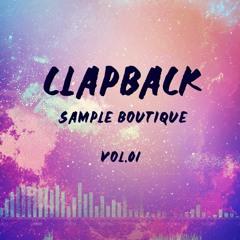 CLAPBACK - SAMPLE BOUTIQUE VOL. I - SAMPLES FOR FREE!! TRIBAL DANCEHALL HORNS VOCALS LOOPS & MORE
