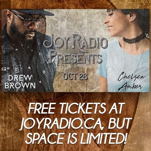 Joy Radio Presents - Chelsea Amber & Drew Brown