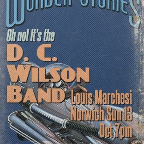 D C Wilson at the Louis Marchesi 13 Oct 2019
