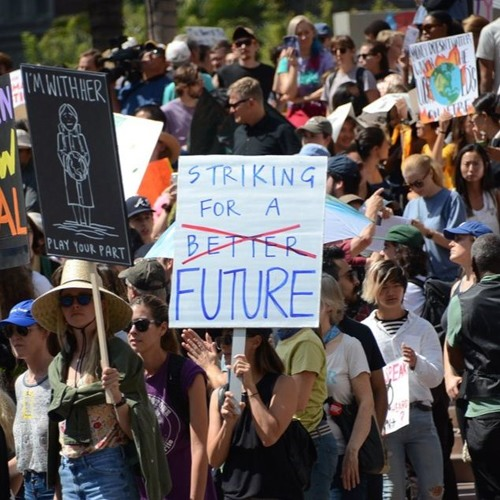 Youth Climate Strike Takes Over Downtown Los Angeles